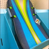 Snow Sled Corrugated Shelf Display 3