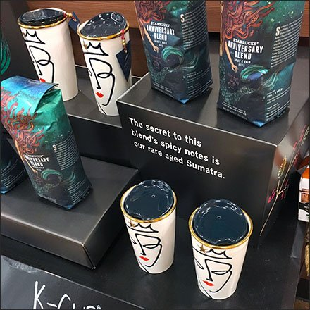 Starbucks Brand Logo Iconified In-Store