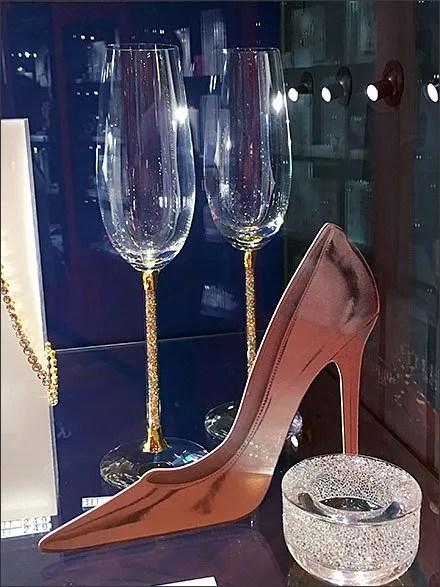 Swarovski® Toasts the High Heel