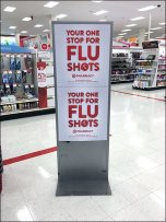Target® One Stop For Flu Shot Bandaid