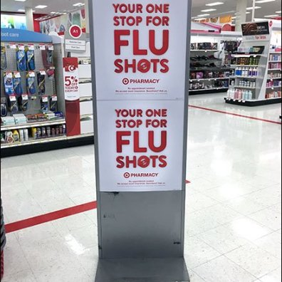 Target® One Stop For Flu Shot Bandaid