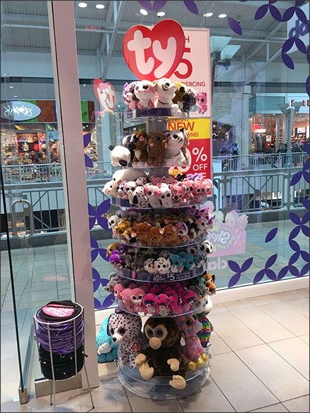 Ty Branded Tower of Plush