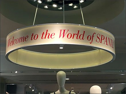 Spanx Retail Fixtures - Welcome to the World of Spanx