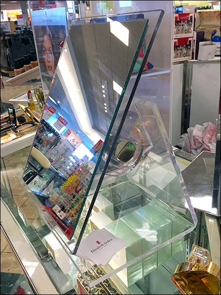 Drop-Shadow Mirror Adjustable Acrylic Stand