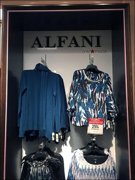 Alfani Deep-Dish Shadowbox Display