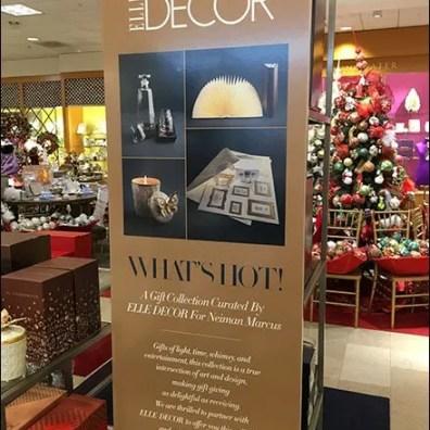 Elle Decor Vertical Christmas Sign 3