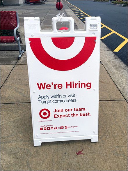 Holiday Hiring Emergency at Target Aux