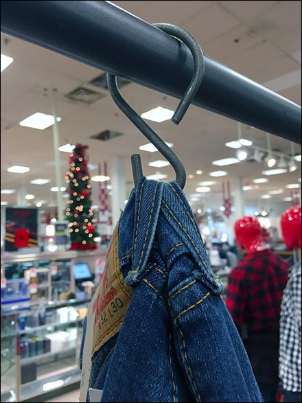 Levis Security S-Hooks for Jeans