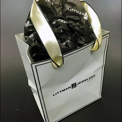 Littmans Be-Ribboned Branded Bag