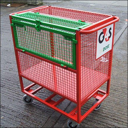 Loredo Flip Open Security Trolly