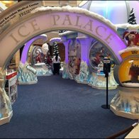 Mall Christmas Ice Palace Main