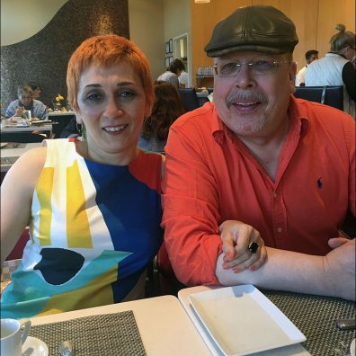 Margarit and Tony at Neiman Marcus Cafe Main