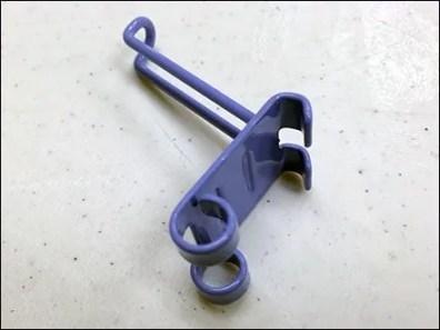 Purple 90º Loop Hook for Bar 3