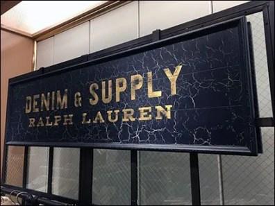 Crackle Finish Ralph Lauren Denim & Supply