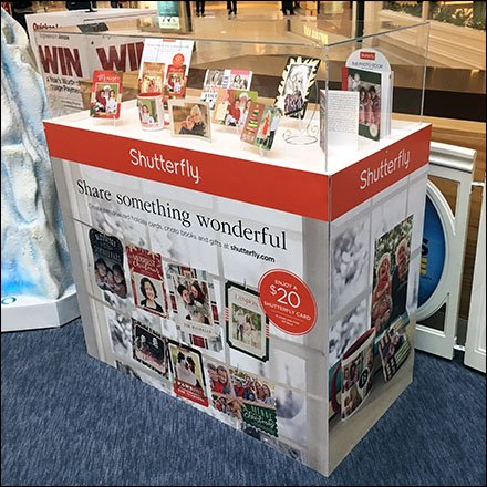 Shutterfly Analog Museum Case at the Mall Main