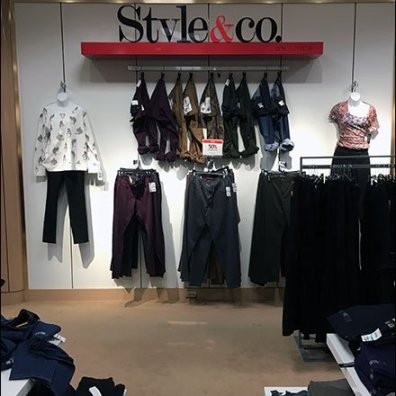 Style & Co Fashions S-Hooked