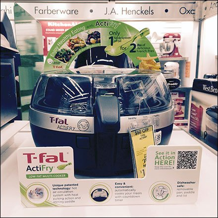 T-Fal ActiFry Point-of-Purchase QR-Code