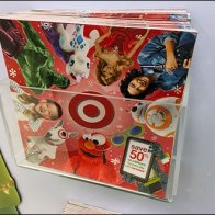 Target In-Store Christmas Catalog Fully Stocked