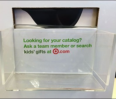 Target In-Store Christmas Catalog Out-Of-Stock