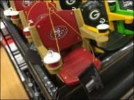 NFL Branded Stadium Seat Miniatures