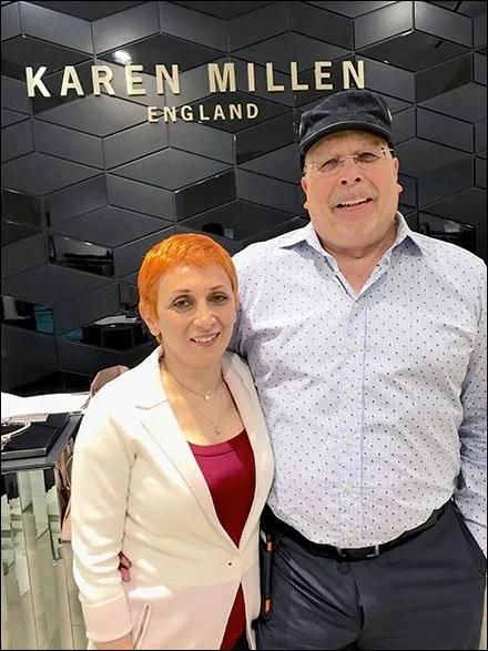 Karen Millen Retail Fixtures Visit