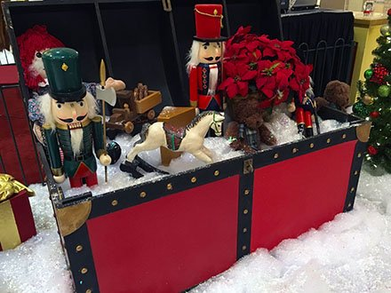 Tradional Christmas Toy Trunk Sale