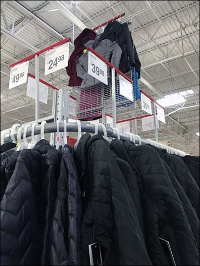 Warehouse Winter Coat Bulk Merchandising 2