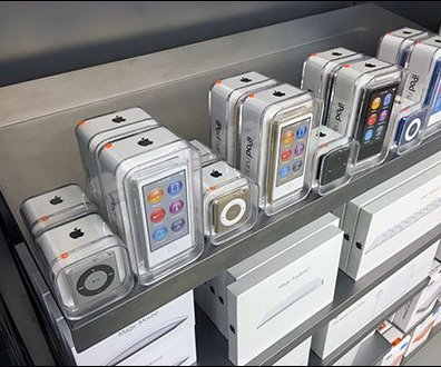 Apple iPod Shelf Edge Merchandising