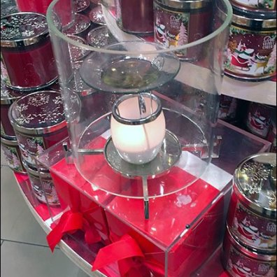Aroma Diffuser Candle Merchandising