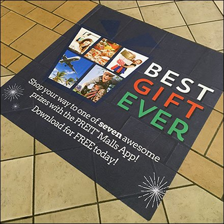 Best-Gift-Ever Mall Floor Graphic