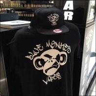 Blue Monkey Vape Bar Branding 3