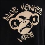 Blue Monkey Vape Bar Branding CloseUp 2