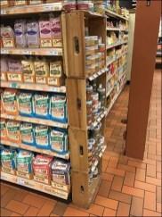 Small Footprint Wood Crate Merchandising