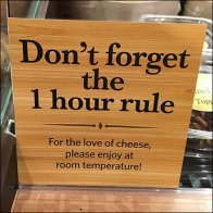 Don't Forget The 1 Hour Cheese Rule Main