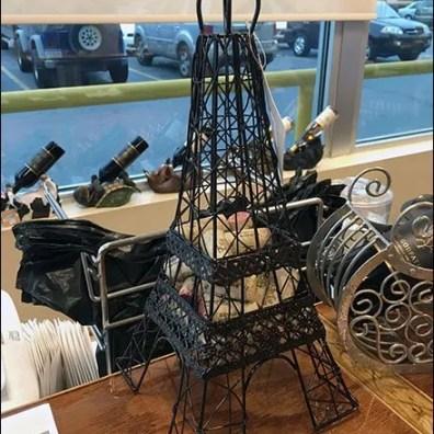 Eiffel Tower Cork Caddy 3
