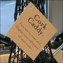 Eiffel Tower Cork Caddy Window Display Tag