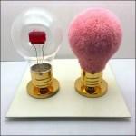 Fendi Fuzzy Lightbulb and Friend