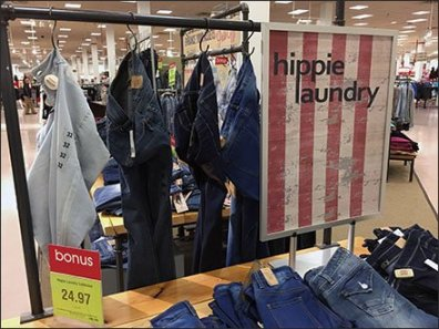 Hippie Laundry Branded Display 2