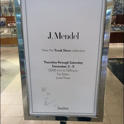 Neiman Marcus Fur Trunk Sale Main