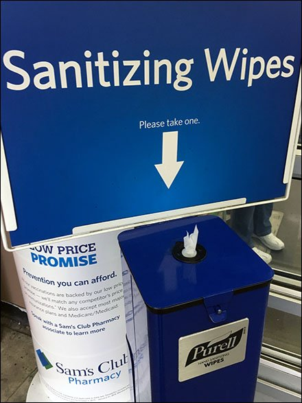 Purell Floor-Standing Sanitizing Wipes Main