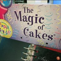 Magic Book of Custom Cakes