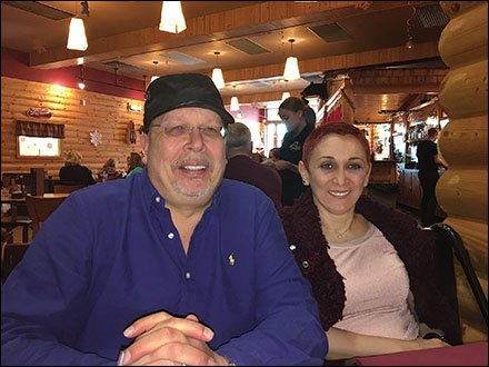 Discount Outlet Dining as Business Perq - Tony & Margarit, Tannersville 2015 1