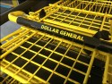 Brilliant Shopping Cart Branding at Dollar General