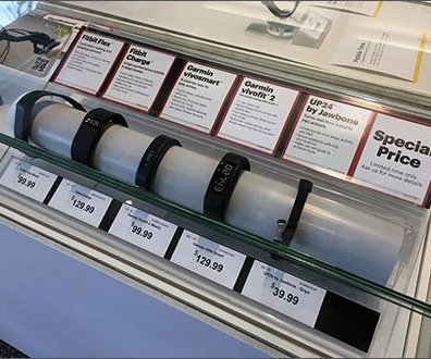 FitBit Acrylic Tube Protective Wrap
