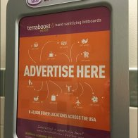 Restroom Hand Sanitizer Billboard Advertising Nationwide