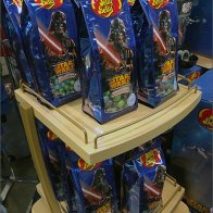 Jelly Belly Star Wars Wood Display 2