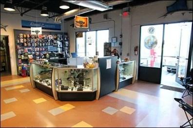 Scuba Dive Shop Cashwrap