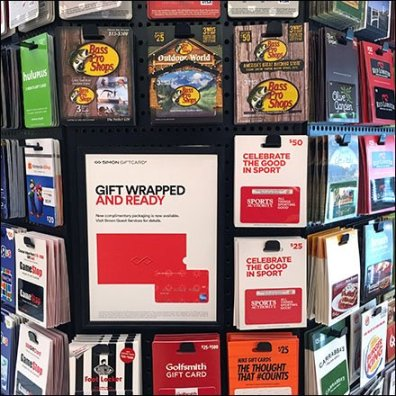 Mall Gift Cards in the Round Gallery 2