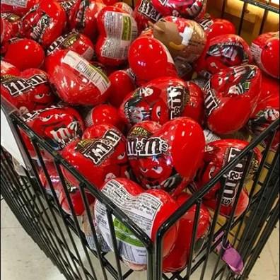 M&M Valentines Day Novelties Bulk Bin 2