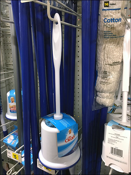 Mr. Clean Toilet Bowl Brushes Hook Hung